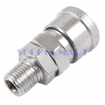 """1Pcs 20SM Air Quick Coupler Socket Pneumatic Pipe Fitting 1/2"""" Male Thread"""