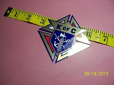 """KNIGHTS OF COLUMBUS - 3rd Degree Foil DECAL 3"""""""