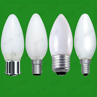 6x Opal/pearl Candle Dimmable Standard Light Bulb 25W 40W 60W BC ES SBC SES Lamp
