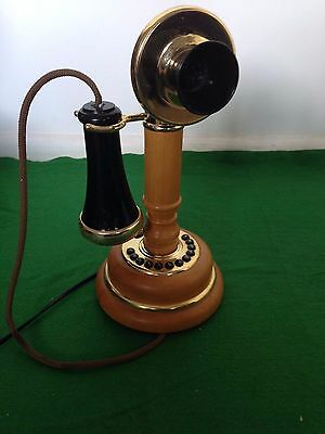 Vintage  Old Fashioned Rotary style - Telephone  -  Retro look 1930's
