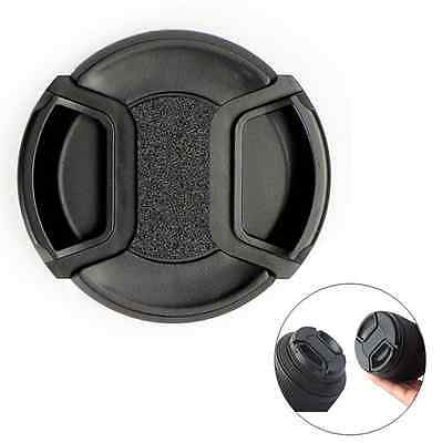 Snap-on Front Lens Cap 49mm/52mm/55mm/58mm For Canon Nikon Sony Pentax Olympus