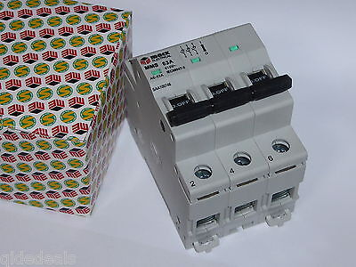 Main Switch 63A 240V 415V Din 3 Pole Saa 1007746 Switchboard Industrial 3 Phase