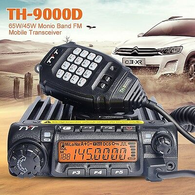 TYT VHF136-174MHZ Vehicle Radio TH-9000D 60W Power Mobile Car Radio From Canada
