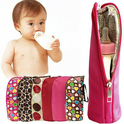 Insulated Tote Bag Milk Bottle Accessory Portable Design Baby Feeding Warm Bag