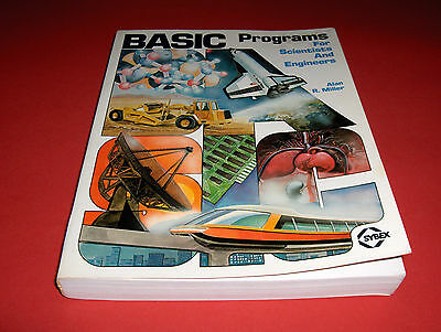 1981 Buch Book Basic Programs For Scientists And Engineers Personal Computers