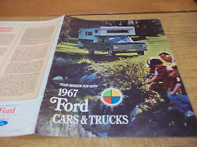 1967 Ford Four Season Fun Dealer Brochure, 16 pages