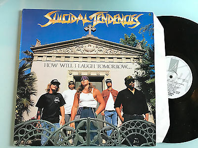 LP UK 1988  Suicidal Tendencies ‎– How Will I Laugh Tomorrow... When I Can't Eve