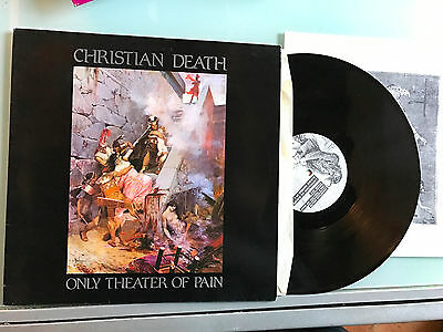 Lp 1983 1St Christian Death Rare Only Theater Of Pain + Booklet