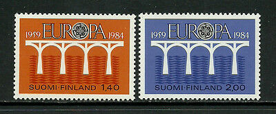 Finland #693-4 Mint Never Hinged Set - 1984 Europa