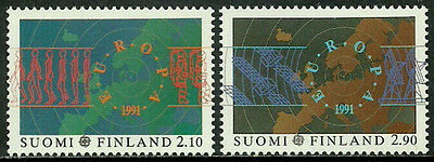 Finland #866-7 Mint Never Hinged Set - 1991 Europa