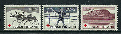 Finland #B157-9 Mint Never Hinged Set - Red Cross