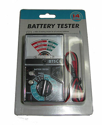Rdgtools Battery Tester Can Test 14 Types Of Ordinary Batteries Test Equipment