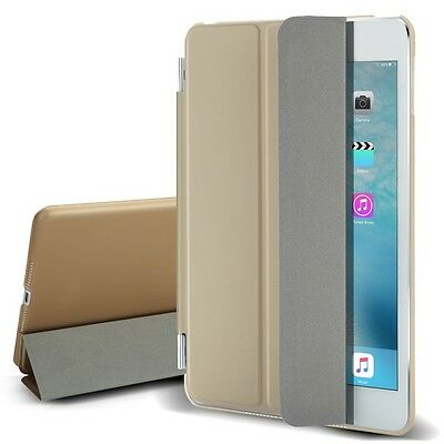 Gold Flip Magnetic Leather Smart Cover Stand Case for Apple iPad Mini 1 2 3
