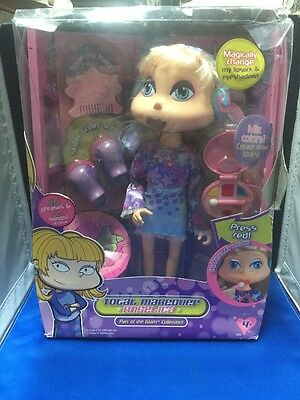 "Rugrats All Grown Up: Total Makeover Sing & Style Angelica Doll 14"" Working"