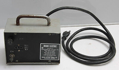 Braun Electric H-1 Transformer for Durst CLS Color Head Power Supply - USED J24