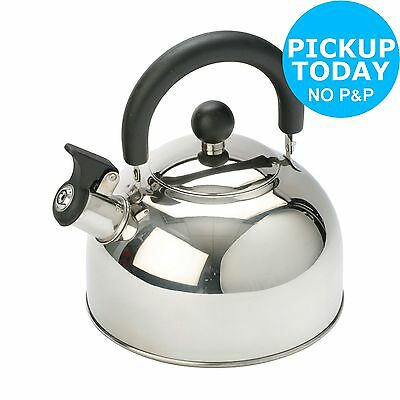 Vango Camping 2 Litre Kettle - Stainless Steel -From the Argos Shop on ebay
