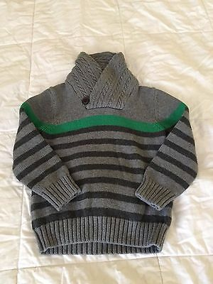 Baby Gap Toddler Boy Sweater size 4T gray
