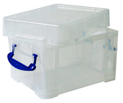 Multi-Use Clear Storage Box with Lid, 3 Litre - 160 x 180 x 245mm
