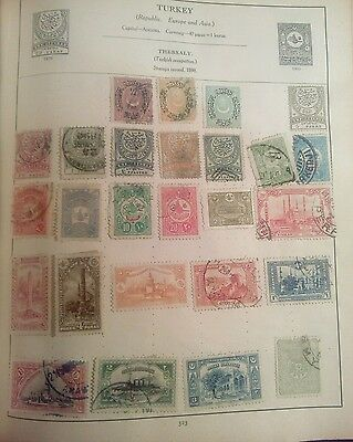 Stamps Used Mm Turkey