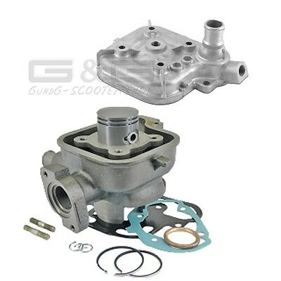 Cylinder Kit + Cylinder head 50ccm for Peugeot JETFORCE LUDIX SPEEDFIGHT 3 LC