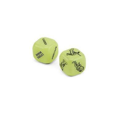 Glow in the dark Kama Sutra Sex Dice, love making adult game, secret Santa gift