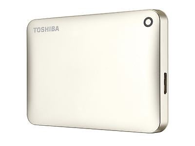 Toshiba HDTC810EC3AA - Canvio Connect II 1TB Gold