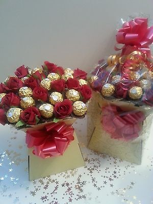 Ferrero Rocher Chocolate Bouquet Perfect Christmas Gift Hamper Sweet Tree