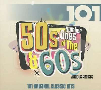 Various Artists - 101 - Number 1s Of The 50s And 60s NEW 4 x CD