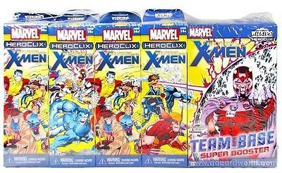 Marvel Heroclix Wolverine and  X-Men Sealed BRICK 8 Boosters + 1 Super Booster