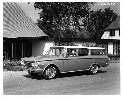 1962 AMC Rambler Classic Station Wagon ORIGINAL Factory Photo oad7920-JBIGF8