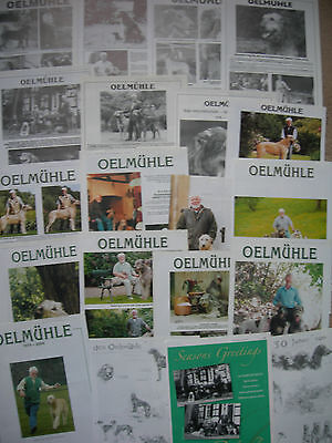 Irish Wolfhound Oelmuhle kennel breed clippings