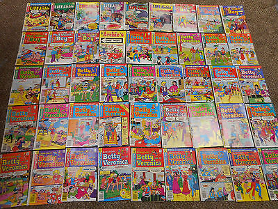 45 Archie Comics 1970s Archie's Girls Betty and Veronica Life with Wilkin Boy