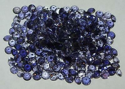 4mm Zambian Blue Purple Iolite Round Cut
