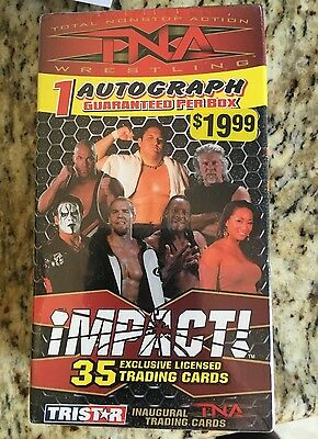2008 Tristar Impact Wrestling Trading Cards 35 trading cards- 1 Autograph