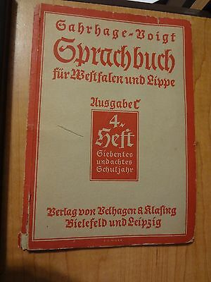 Original German Wwii Book In Old German 1940