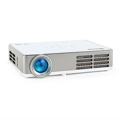 Proyector Dlp Full Hd 2X Hdmi Usb Android Videoproyector Home Cinema Blanco