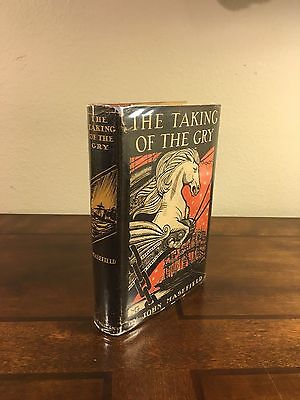 """1934 1st Edition/Printing """"THE TAKING OF THE GRY"""" by John Masefield"""