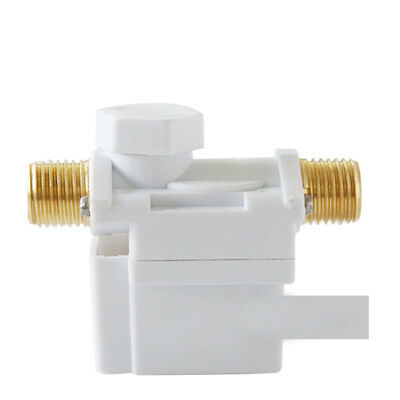 """Durable Hose Barbs Solenoid Valve For Water Air N/C 12V DC 1/2"""" Normally Closed"""