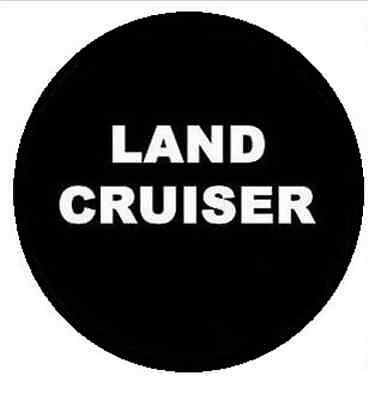 """New For Toyota LAND CRUISER Spare Wheel Tire Cover Fit 31-32"""" R17"""
