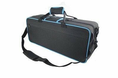TRUMPET CASE -  Black and Blue Trim - Case ONLY - NEW