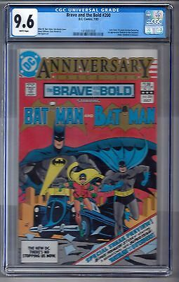 """Brave and the Bold #200 (1983) CGC 9.6 White Pages  Barr - Gibbons 1st """"Katana"""""""