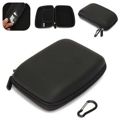 6Inch Hard Shell Carry Case Bag Zipper Cover Pouch for GPS TomTom Garmin Sat Nav