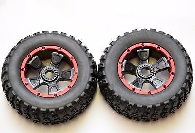 Losi dbxl  Front And Rear Wheel And Tyre Set 1 Pair   LOS45004
