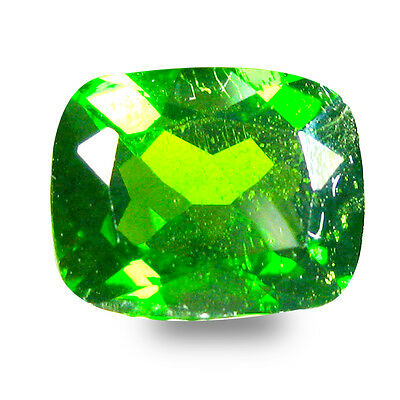 3.20 ct  Marvelous Cushion Shape (10 x 8 mm) Green Chrome Diopside Gemstone