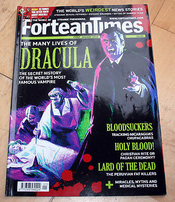 Fortean Times 257 (Jan 2010) - The Many Lives of Dracula