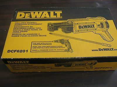 DEWALT DCF6201 Collated Drywall Screw Gun Attachment. BRAND NEW IN THE BOX!!