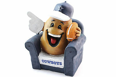 NFL Dallas Cowboys Team Couch Potato Change Money Savings Save Loose Coins Bank