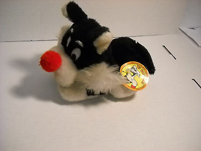 Looney Tunes Sylvester Jr Plush Stuffed Animal WITH TAGS 1971 Mighty Star