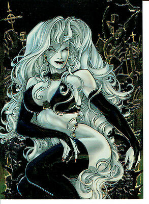Lady Death Night Gallery Promotional Card