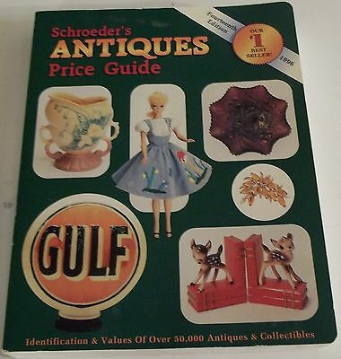 1996 SCHROEDER'S Antiques PRICE GUIDE 14th Edition